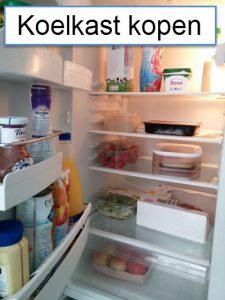 redactie tips bij een koelkast kopen