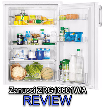 Zanussi ZRG16601WA review