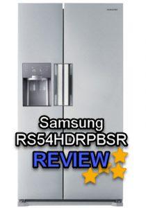Samsung RS54HDRPBSR review - alle plussen en minnen