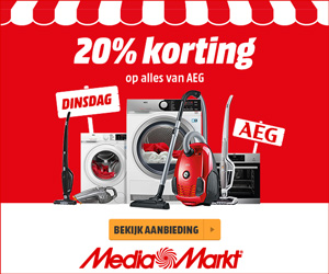 AEG koelkast aanbieding Mediamarkt Merkenmarkt