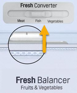 Uitleg over LG fresh converter