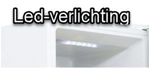 Led verlichting op de LG koelkast