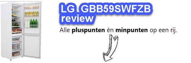 Beoordeling en test van de LG GBB59SWFZB