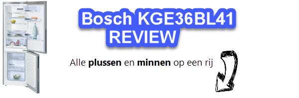 Test en oordeel over Bosch KGE36BL41