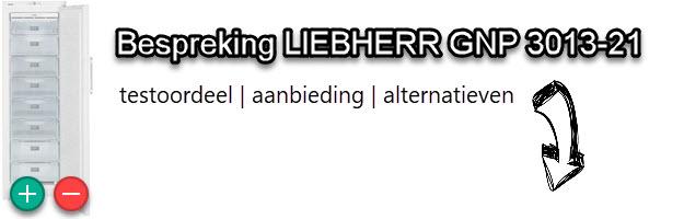LIEBHERR GNP 3013-21 vrieskast vergelijkingstest