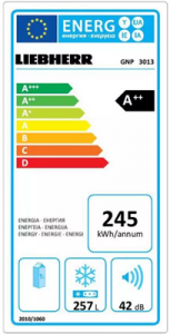 a++ met laag energieverbruik