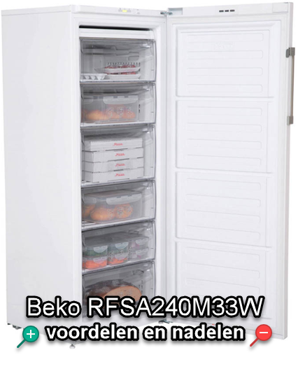 KoelkastSale Beko RFSA240M33W review