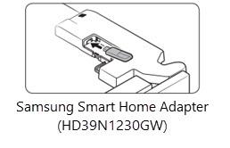 Niet verkrijgbaar in de Benelux - Samsung Smart Home Adapter HD39N1230GW