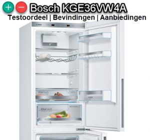 Koelvriescombinatie Bosch KGE36VW4A test en vergelijking