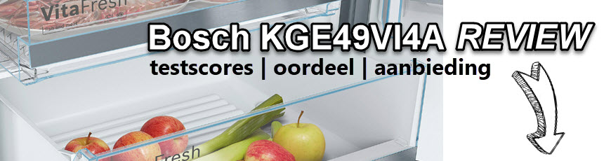 Bosch KGE49VI4A review