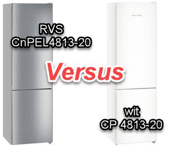 LIEBHERR CNP 4813-20 versus Liebherr CNPEL 4813