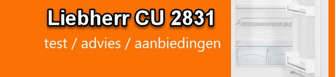 uitgebreide Liebherr CU 2831 review door koelkastsale