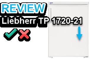 Liebherr TP 1720-21 test