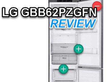 LG GBB62PZGFN review koelkastsale met testresultaten