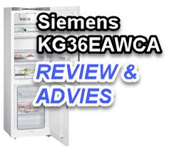 Uitgebreide Siemens KG36EAWCA review door KoelkastSale