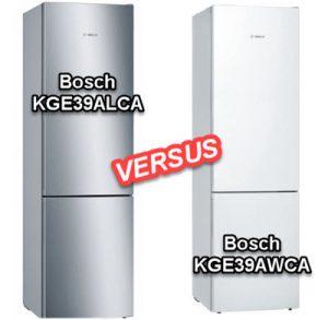 Bosch KGE39ALCA versus Bosch KGE39AWCA