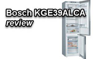 Bosch KGE39ALCA review en vergelijking met de Bosch KGE39AWCA