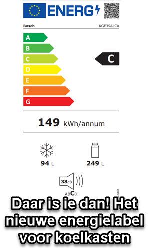 nieuwe energieklasse C